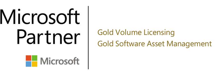 Microsoft 2018-04-16 Partner Logo Gold Volume Licensing SAM